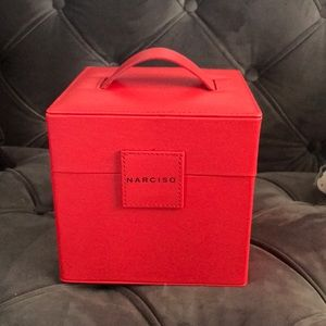 Brand new narciso Rodriguez jewelry/makeup box